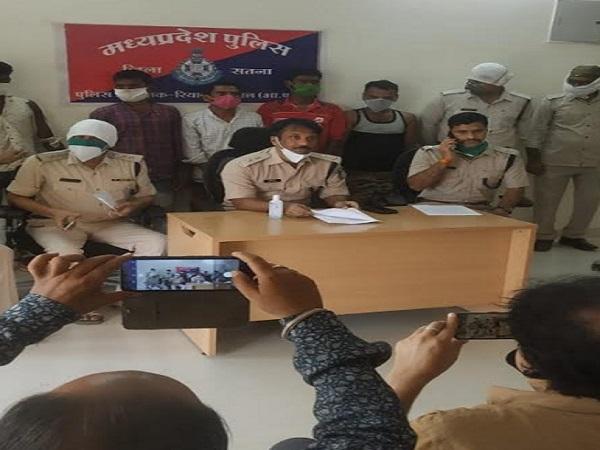 PunjabKesari, Madhya Pradesh, Bhopal, Satna, Ganja caught, 5 Accused arrested