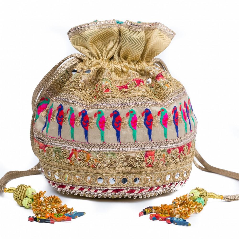 PunjabKesari, Potli Bags Design Images, पोटली बैग डिजाइनइमेज