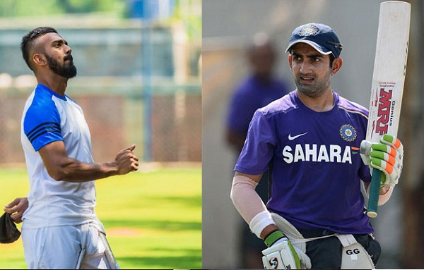 Gambhir also came in opposition to KL Rahul, said - now Rohit gets a chance