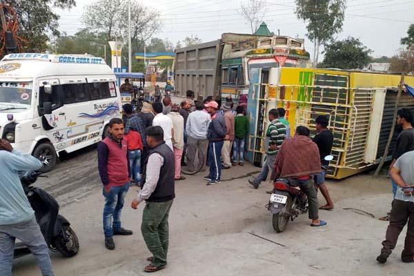 PunjabKesari, Accident Image