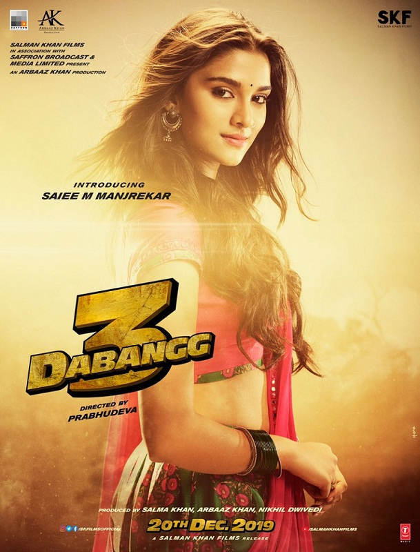 Bollywood Tadka, Dabnagg 3 Sai Manjrekar