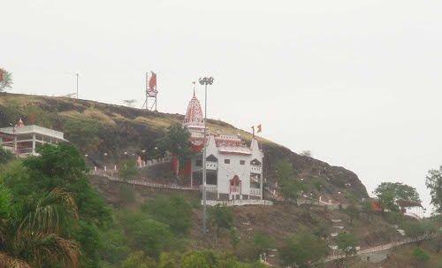PunjabKesari, Chaitra Navratri 2019, Chaitra Navratri, Navdurga, Devi Durga, Maa chamunda mandir, mata tekri, dewas malwa, madhya pradesh