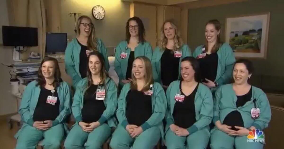 PunjabKesari,labor Unit Nurse, Nurses Give Birth, Portland Hospital,Nari