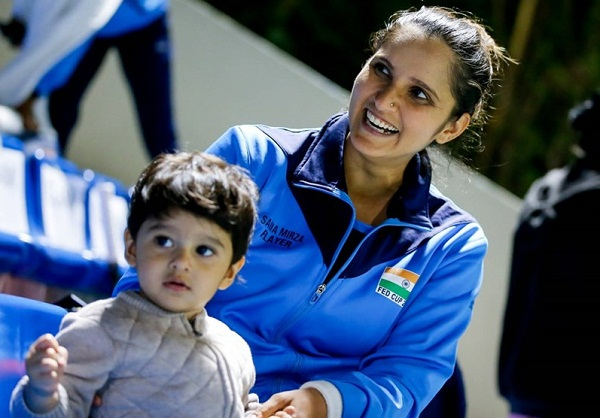 Sania Mirza reached the tennis court after raising her son in the dock