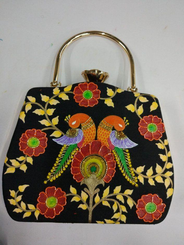 PunjabKesari, Ethnic Clutches Bag Image, एथनिक क्लच बैग इमेज