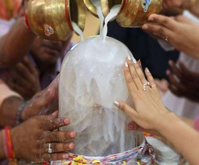 nari, shiving pooja,PunjabKesari
