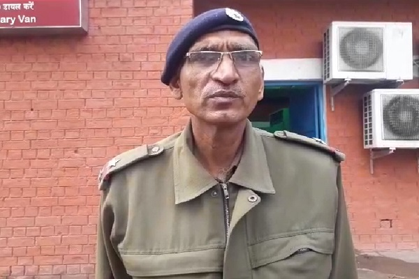 PunjabKesari, police, sky, lihjtning, farmer, die, wheat