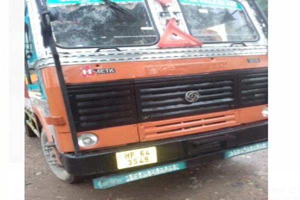 PunjabKesari, two, brother, accident, truck