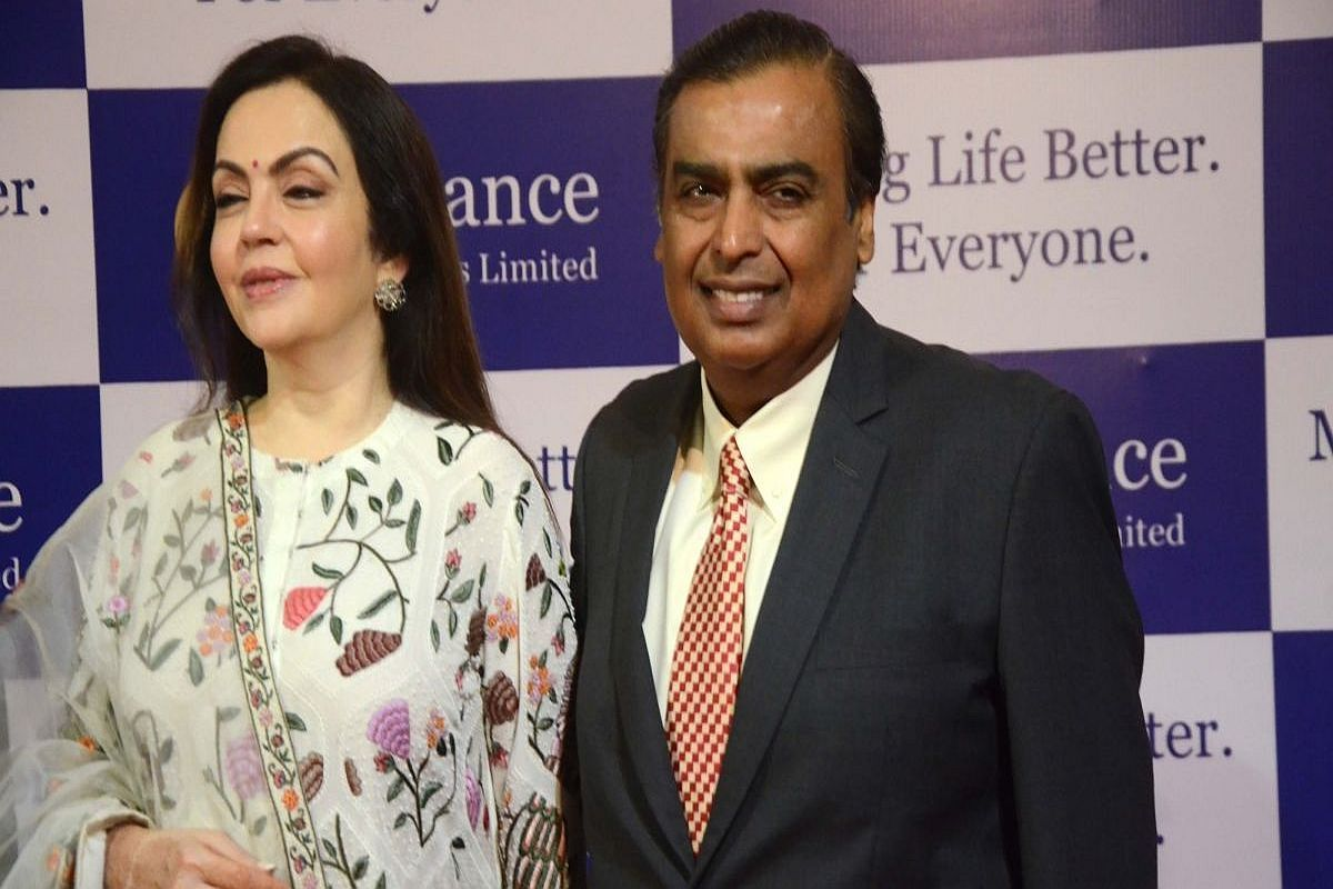 PunjabKesari,Jio Fibre,Mukesh Ambani ,Reliance Industries 42nd AGM,Nari