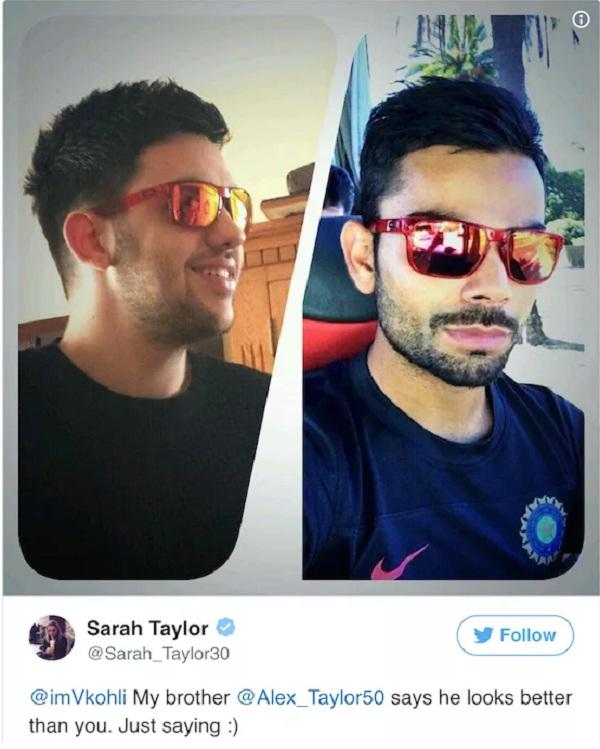 England women player Sarah Taylor shares her nude photo