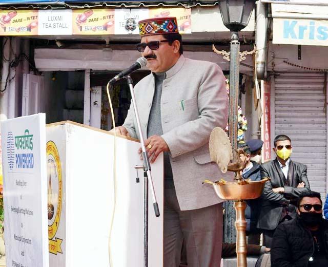 PunjabKesari, Minister Govind Thakur Image