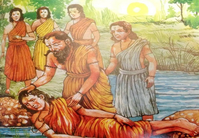 PunjabKesari, Aruni, Rishi Aruni, अरुणि, ऋषि अरुणि