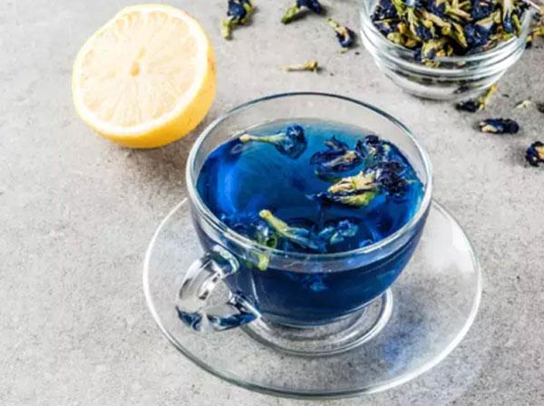 PunjabKesari, Blue Tea Image, nari