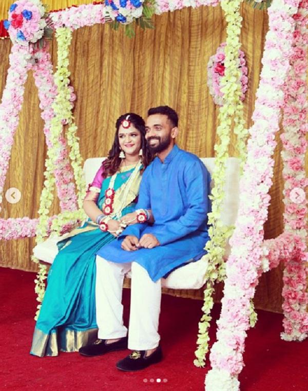 indian cricketer Ajinkya Rahane will be father soon
