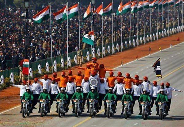 army performs full dress rehearsal amid tight security at red fort