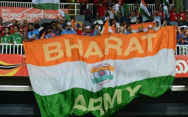 Bharat Army INDvsAUS Ist Test