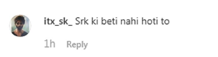 Bollywood Tadka, suhana khan comment
