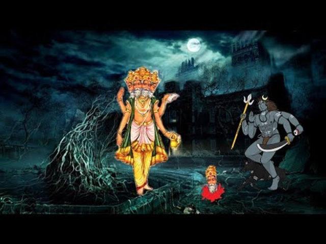 PunjabKesari, Lord Bhairav, बाबा भैरव, Brahmdev, Brahma, Story of lord bhairava and brahma, kala bhairava pooja benefits, kala bhairava mantra, kala bhairava, Dharmik katha in hindi, Religious Story in hindi