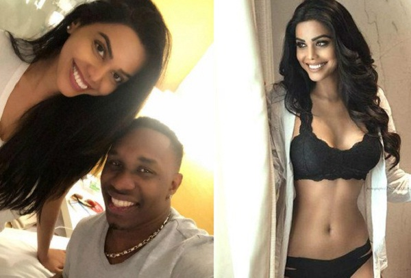 sameera bengera is new friend of DJ Bravo