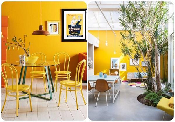 Yellow का टच दीवारों को देगा मॉर्डन लुक को घर में भी आएगी पॉजिटिविटी