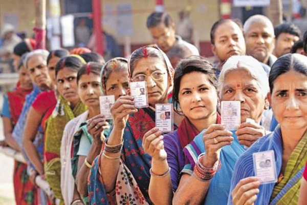 election commission s new experiment voters able to vote queuing
