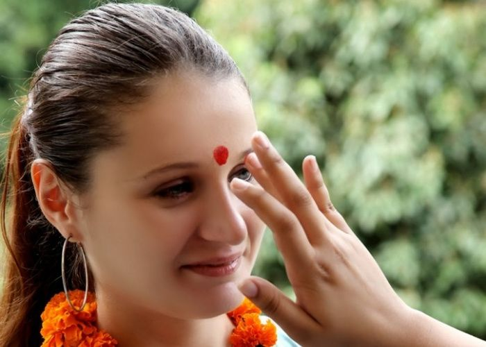 PunjabKesari, Amazing benefits of tilak, Tilak on the forehead, तिलक, Tilak Image