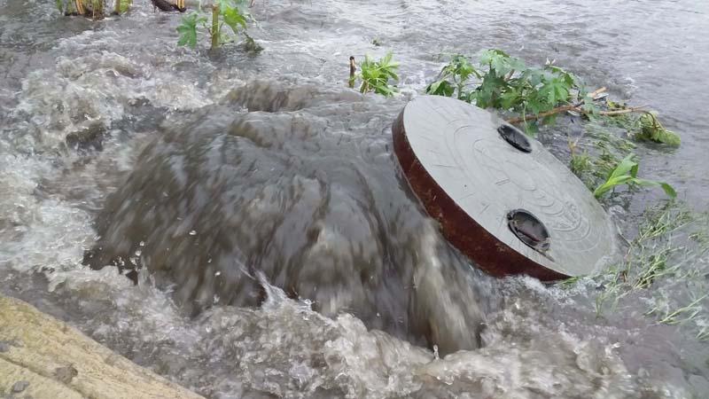 PunjabKesari, 71 millimeters of rain in Ludhiana assumed form of flood