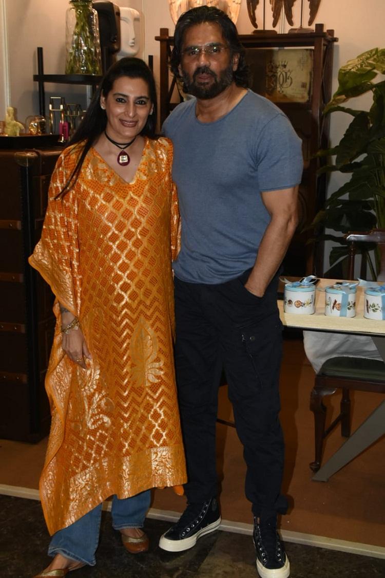 Bollywood Tadka, suniel shetty with athiya shetty