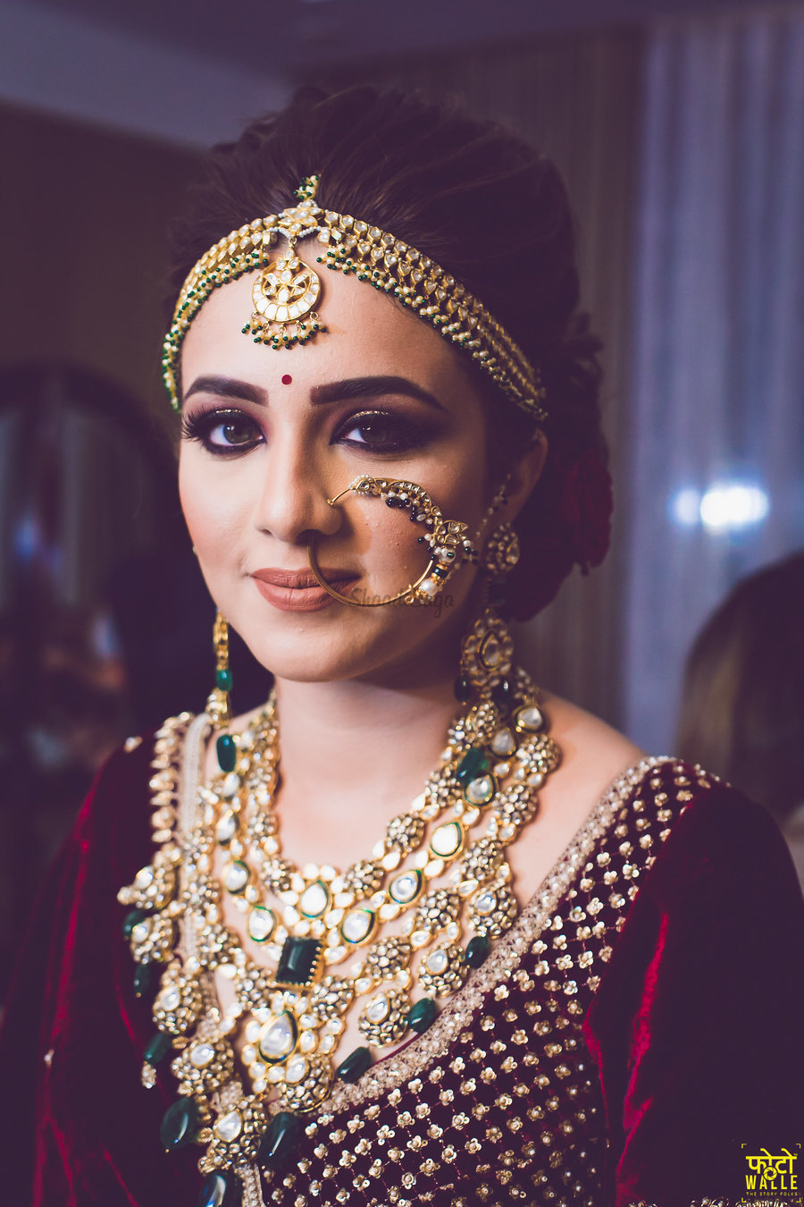 PunjabKesari, कंटेम्पेरी ब्राइड्स के लिए गॉर्जियस माथा पट्टी इमेज