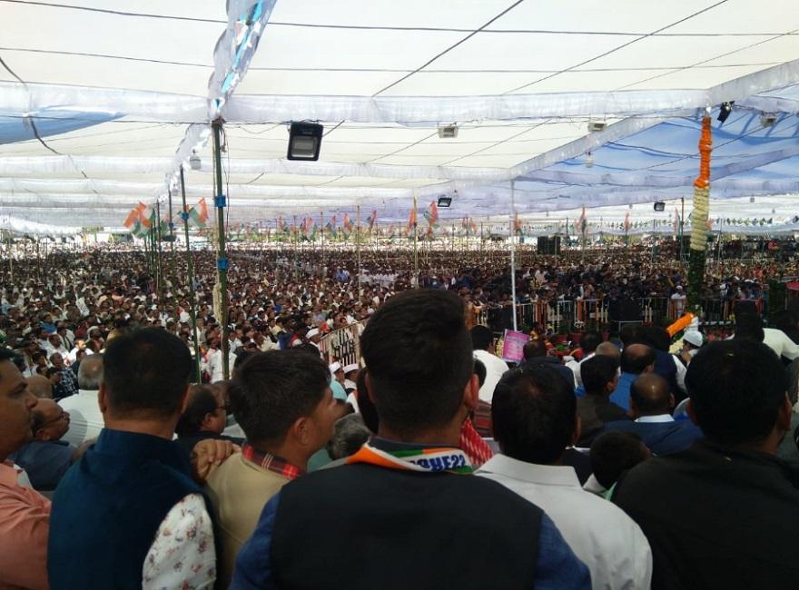 PunjabKesari,  Madhya Pardesh Hindi News, Chindwara Hindi News,Chindwara Hindi Samachar, CM Kamalnath, Rally, Attack, BJP, Shivraj, Devlopment