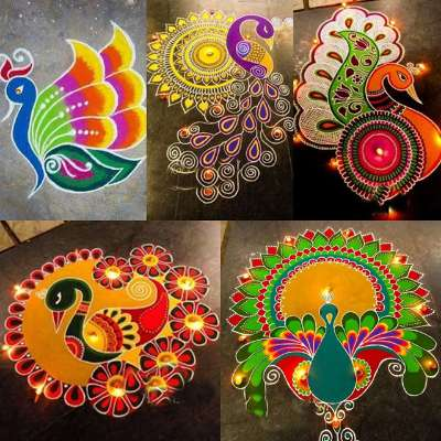 PunjabKesari, rangoli designs images, Rangoli Design for Diwali,diwali rangoli images,ragolis photo,rangoli pic,रंगोली फोटो, रंगोली इमेज , दिवाली रंगोली फोटो