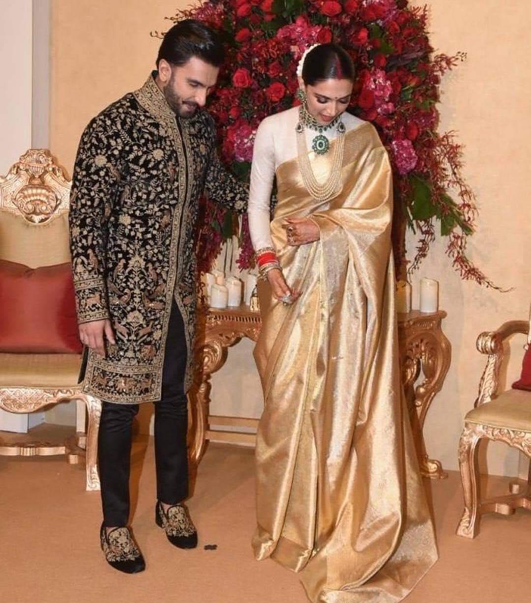 PunjabKesari,Deepika padukone saree, saree image, Nari