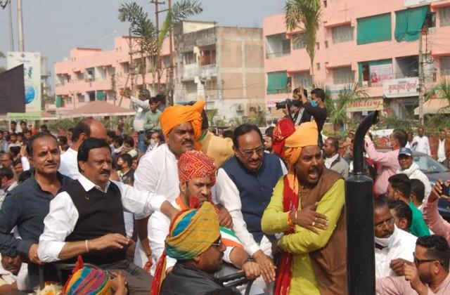 PunjabKesari, Farmers, Congress's 'Kisan Sangharsh Adhikar Yatra', Congress, Kisan Andolan, Ratlam, Madhya Pradesh