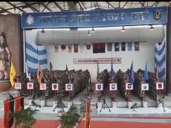 PunjabKesari, BSF Academy Taken Pur, Dabra, Gwalior, 14th Inter Frontier Commando Competition, Joint Director Border Security Force, Inspector General, Dabra News, Madhya Pradesh News