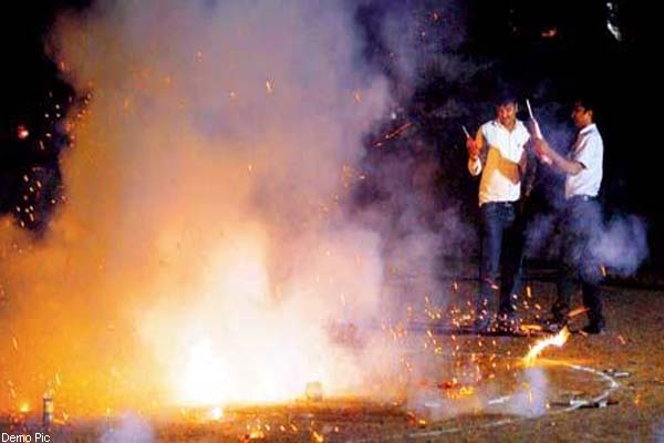 PunjabKesari, Fireworks Image
