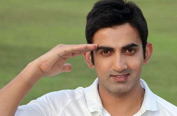 Gautam Gambhir asks Army, Defence Ministry to help his Ex. Soldier