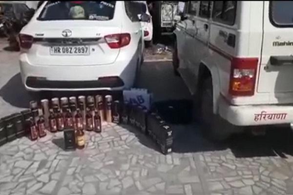 PunjabKesari, soldier, canteen, liquor