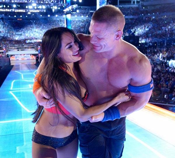 Punjab Kesari sports John Cena image nikki bella image