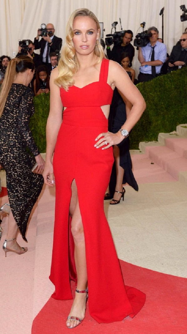 Met Gala : Tennis stars Sharapova, wozniacki & Serena stun their fan's