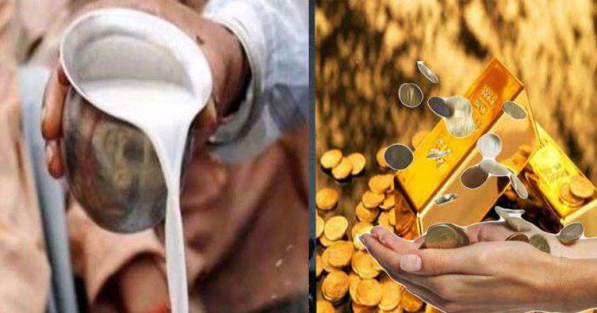 PunjabKesari, Money, Jyotish upay of milk