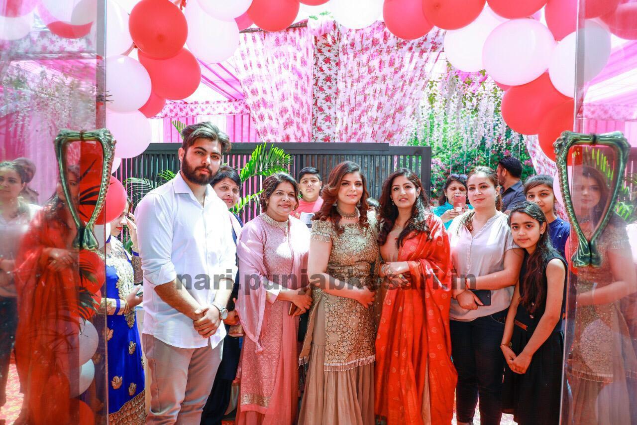 PunjabKesari, Nari, Tania Makeup Artist Salon Grand Opening