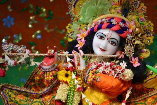 PunjabKesari, Janmashtami 2020, जन्माष्टमी, Janmashtami, जन्माष्टमी 2020, Sri Krishna, श्री कृष्ण, Sri Krishna mantra, Sri krishna Chalisa, mantra bhajan Aarti, vedic mantra in hindi