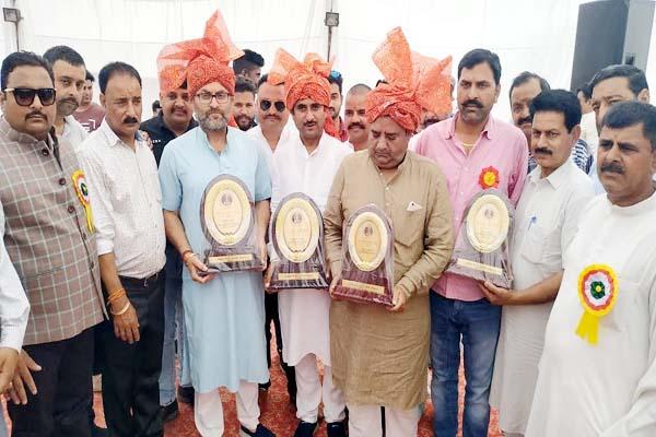 PunjabKesari, Chief Guest Honor Image