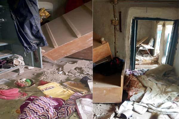 PunjabKesari, Gas Cylinder Blast Image