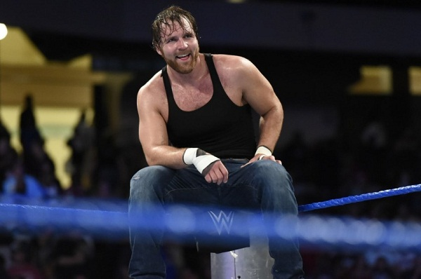 Dean Ambrose trapped in the storm of Japan, lost the championship belt