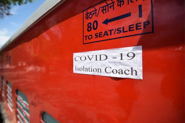 isolation and quarantine by indian railways against corona