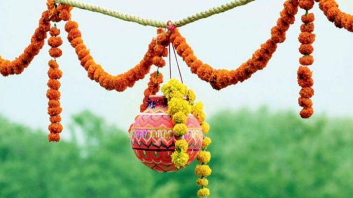 PunjabKesari, Dahi handi, दही हांडी, Krishna Janamashtmi, Krishna Janamashtmi 2019, कृष्ण जन्माष्टमी 2019, श्री कृष्ण जन्माष्टमी, श्री कृष्ण, Sri krishna, Lord Krishna, दही हांडी परंपरा, Dahi handi Tradition