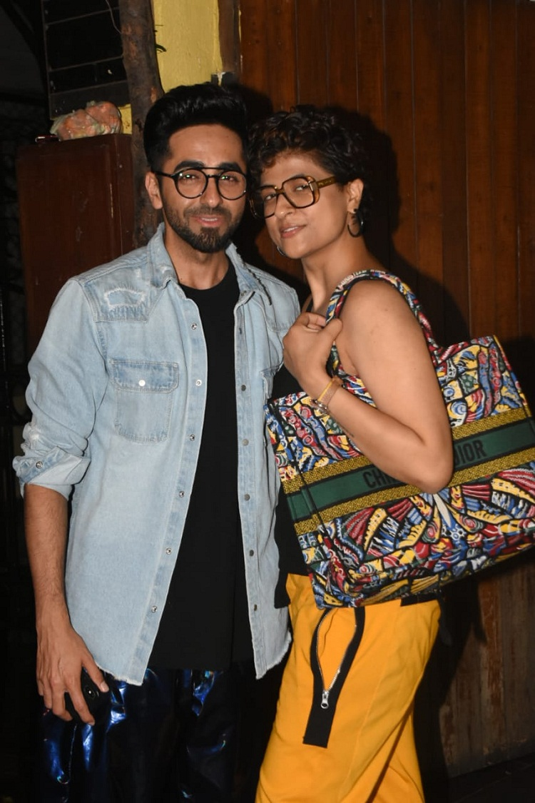 Bollywood Tadka, ayushman khurana with wife