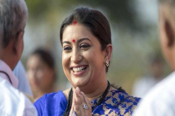smriti irani who says victory over amethi