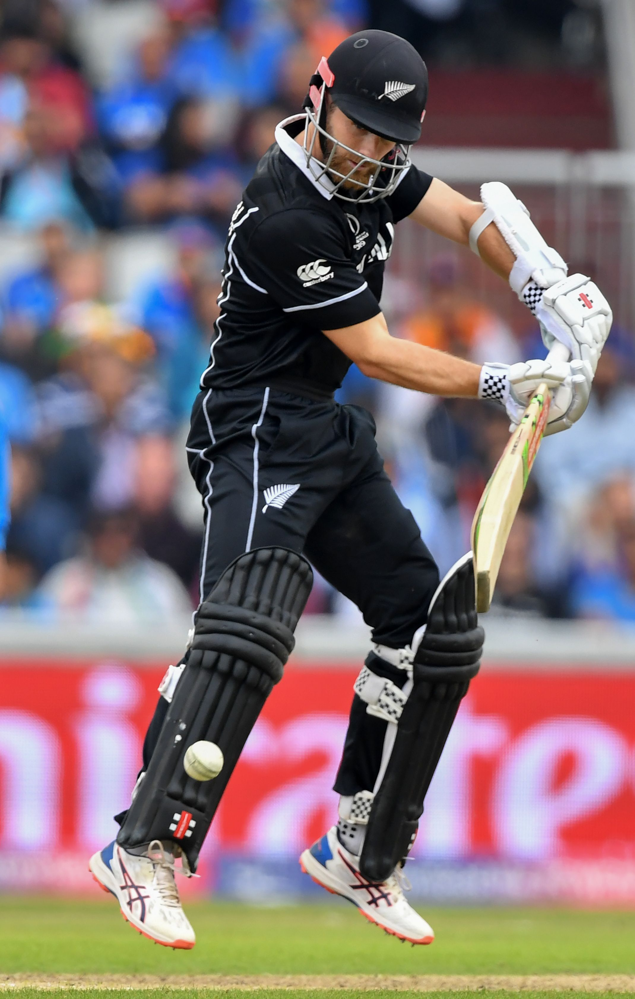 IND v NZ : Kane williamson now have Most runs for NZ in a WC